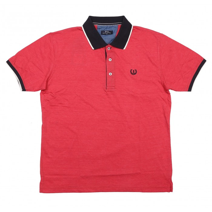 Short Sleeves Polo With Contrast Collar