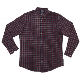 Navy Blue Check Shirt