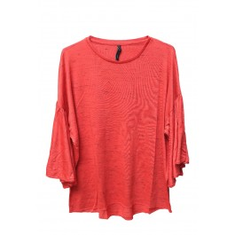 Flared Sleeves Top